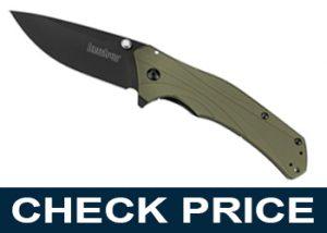 Kershaw Knockout Olive Black Pocket Knife